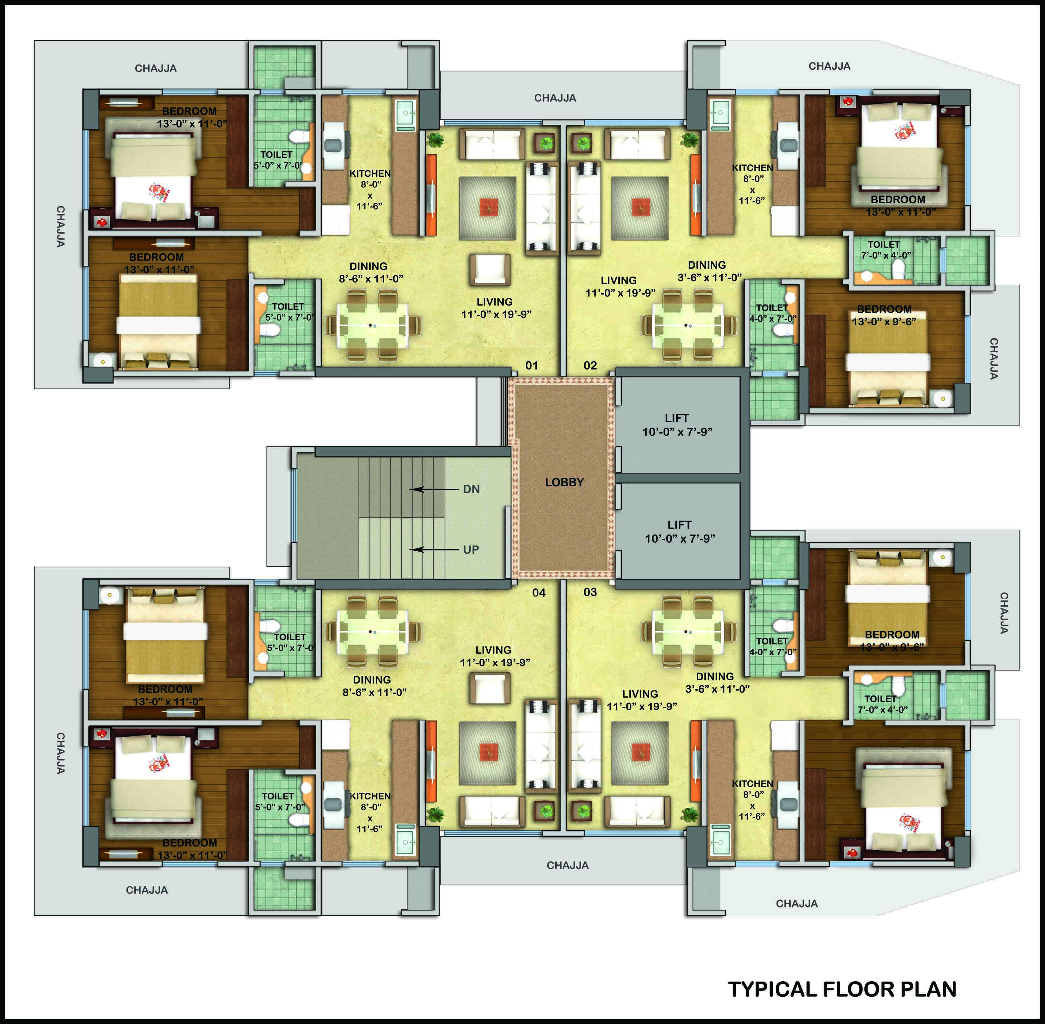 Western woods karmvir group for Western floor plans